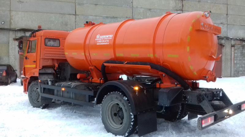 Вакуумная машина МВ-8 КАМАЗ-43253