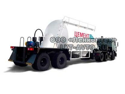 964801 цементовоз полуприцеп-цистерна
