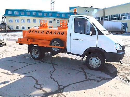 Бензовоз Газель. Топливозаправщик ГАЗ 3302
