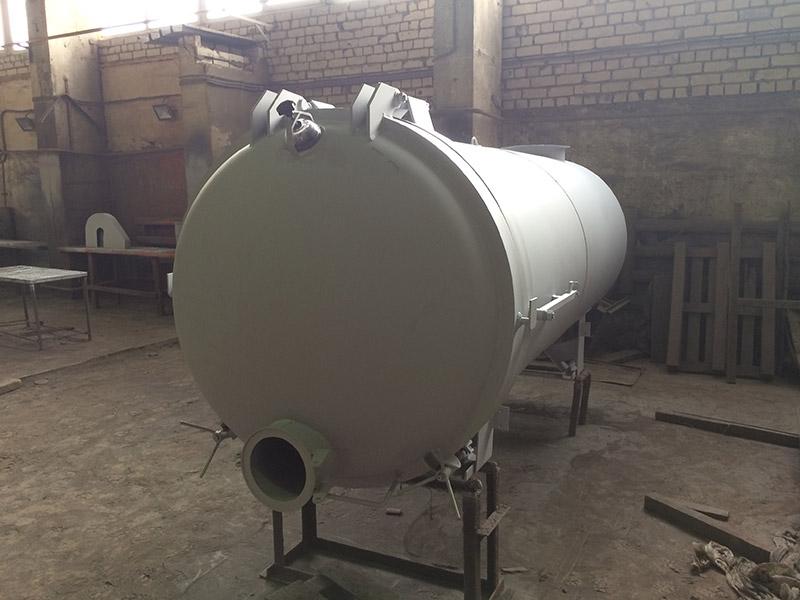 Вакуумная цистерна с открывающимся дном