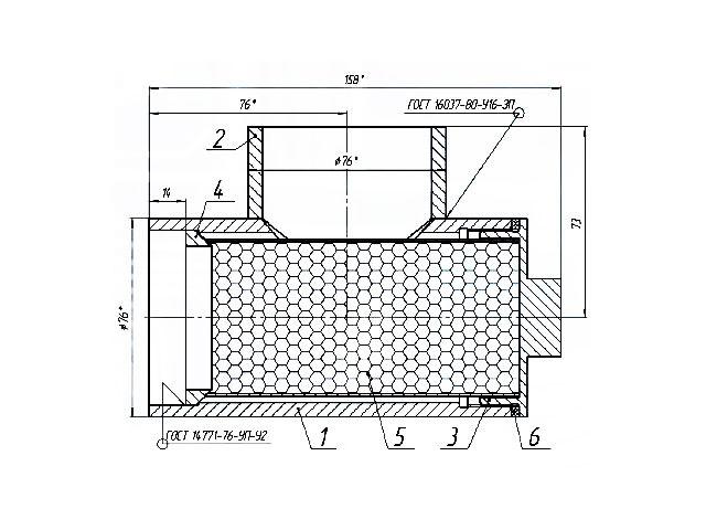 Фильтр угловой сетчатый СВН-80