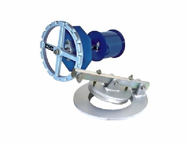 Клапан донный с механизмом управления (МУВ-80) КМУ-80 стальной