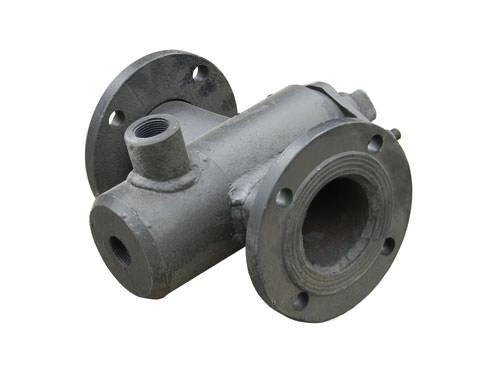 Битумный кран проходной с паровой рубашкой ДУ-80мм сталь