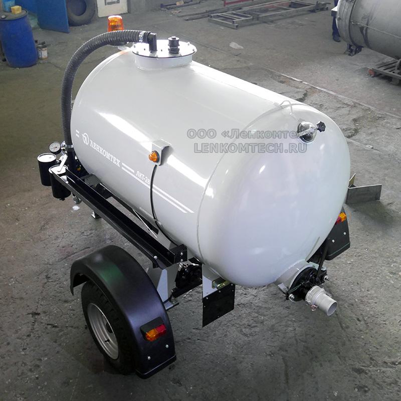 Вакуумный прицеп для трактора ЛКТ-2В