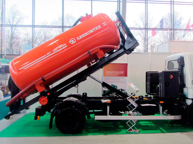 ЛКТ-4ВМ ассенизаторская бочка