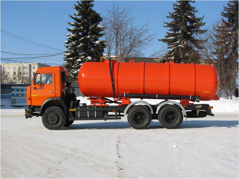 Вакуумная машина МВ-15 КАМАЗ-65115