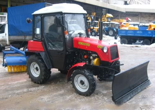 Отвал коммунальный снегоуборочный УМДУ – 25/30 (для МТЗ – 320). Гидроповоротный