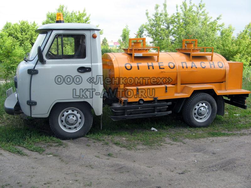топливозаправщик УАЗ-35223